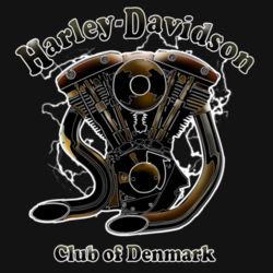 H-D Club Denmark No.5 Design