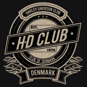 H-D Club Denmark No.1 Design