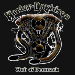 H-D Club Denmark No. 5 Design