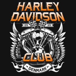 H-D Club Denmark No.2 (color) Design